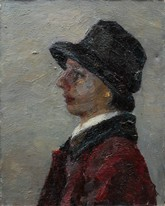 Lia Aminov portrait of women 2002 oil painting.jpg